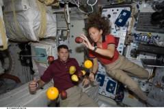 Cibo nello spazio