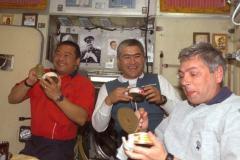 Pasto nella ISS