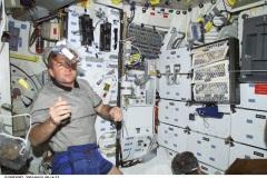 Cibo nello Shuttle