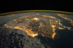 Iberian-Peninsula-at-night-NASA-Earth-Observatory