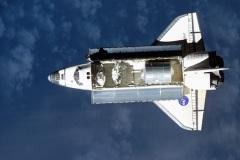 STS-111 - Endeavour con il modulo Leonardo