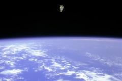 STS-41B - Bruce McCandless EVA
