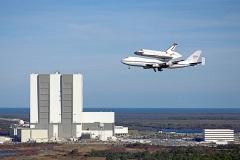 Lo Shuttle torna al KSC