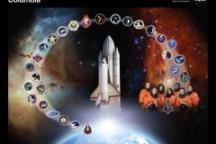 Poster missioni Columbia