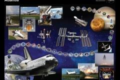Poster missioni Atlantis