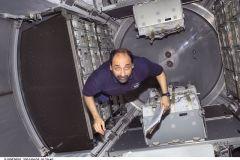 STS-100 Primo ingresso modulo Raffaello