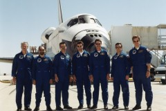 STS-100 dopo atterraggio